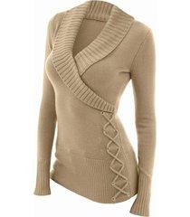 fashion women's v-neck sweater