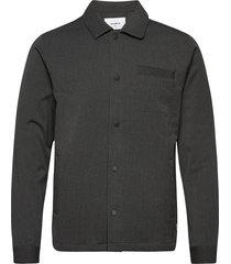 brenti shirt skjorta casual grå woodbird
