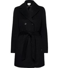 byabia coat - yllerock rock svart b.young