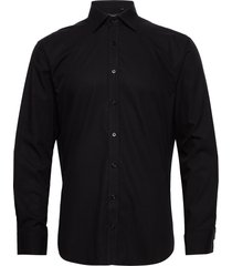 black poplin skjorta business svart bosweel shirts est. 1937