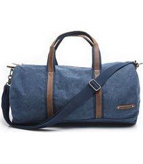 bolso de viaje azul ferouch
