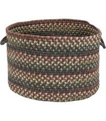 colonial mills cedar cove braided storage basket