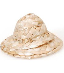 bulk buy: darice diy crafts straw hat round natural 2 inches (12-pack) sh02