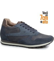sapatenis sneakers alth 8605-02-marinho-42