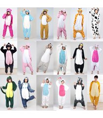 hot new fancy dress cosplay animal onesies adult unisex hooded pyjamas sleepwear