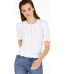 inc popcorn-stitch pullover sweater, created for macy's