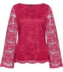 maglia in pizzo (rosso) - bodyflirt