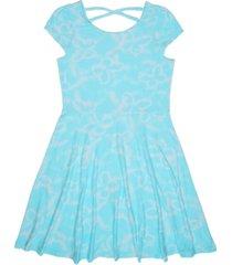 epic threads big girls butterfly tie dye dress