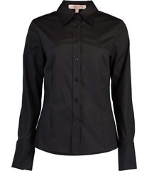 black long sleeve button down shirt