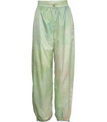 joice track trousers sweatpants mjukisbyxor grön wood wood