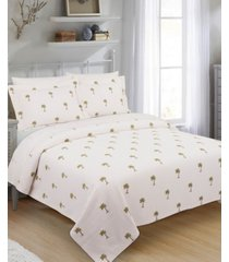 the palm full/queen coverlet bedding