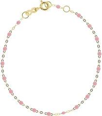 salmon bead classic gigi bracelet