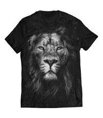 camiseta leão tribo judá felino black lion t shirt