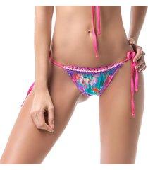 bottom(tanga) estampado- mar de rosas- mar de pasión