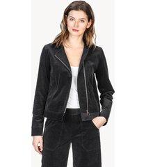 lilla p zip front corduroy jacket
