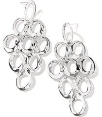 ippolita open oval cascade earrings in sterling silver at nordstrom