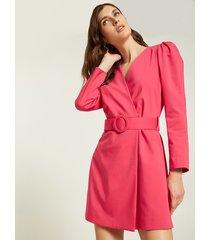 motivi vestito corto a tubino con cintura donna rosa