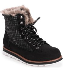 women's sigrid laceup cold weather furry booties women's shoes