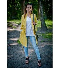 bluza fio frak cienki-żółty