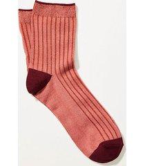 lou & grey lou & grey colorblock ribbed socks