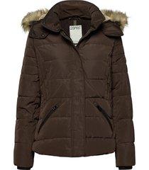 jackets outdoor woven gevoerd jack bruin esprit casual