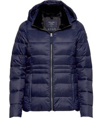 packable puffer coat gevoerd jack blauw abercrombie & fitch