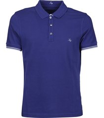fay embroidered logo polo shirt