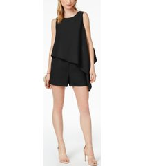 bar iii asymmetrical romper, created for macy's