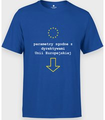 koszulka parametry zgodne z unią