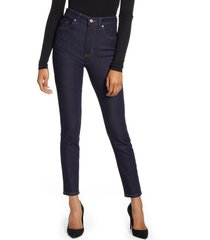 lee high waist skinny jeans, size 32 in retro rinse at nordstrom