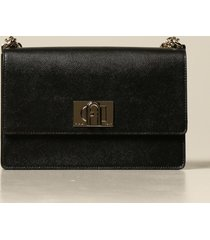 furla crossbody bags 1927 furla bandoliera bag in grained leather