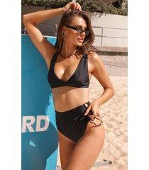 showpo shirley bikini bottom in black - 20 (xxxxl) bikini sets