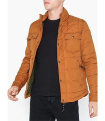 premium by jack & jones jprlambert quilt jacket jackor mörk brun