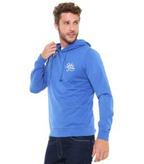 moletom fechado jack & jones sweat male azul
