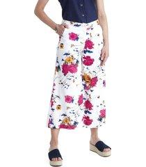 pantalon crop ancho lorenzo di pontti