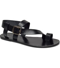 athens shoes summer shoes flat sandals svart by malene birger