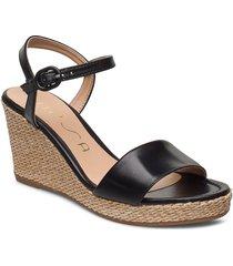 lupa_na sandalette med klack espadrilles svart unisa