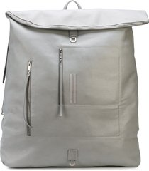 rick owens midi megaduffle backpack - grey