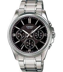 reloj casio mtp-1375d-1a-gris