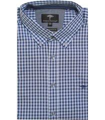 fynch-hatton blauw overhemd