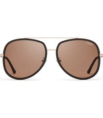 gafas de sol quay needing fame choc / brown lens