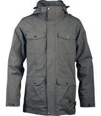 chaqueta hombre nalca impermeable negro lippi