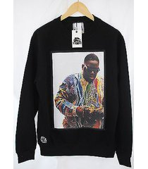 actual fact biggie supreme color money notorious big black sweatshirt top