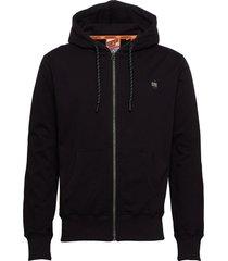 collective zip hood ub hoodie trui zwart superdry