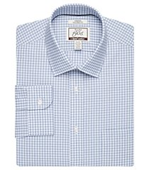 1905 collection tailored fit spread collar check repreve® dress shirt clearance, by jos. a. bank