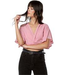 blusa palo rosa active