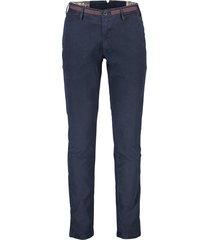 donkerblauwe pantalon mmx stretch