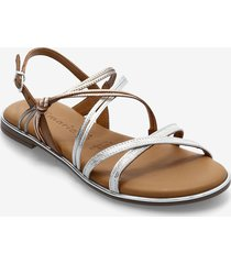 woms sandals shoes summer shoes flat sandals multi/mönstrad tamaris