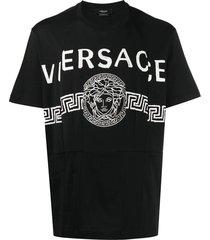 medusa logo black t-shirt