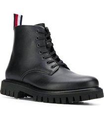 chunky dress boots
